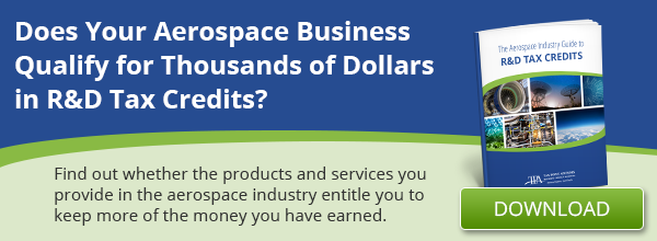 FREE E-Book: The Aerospace Industry Guide to R&D Tax Credits